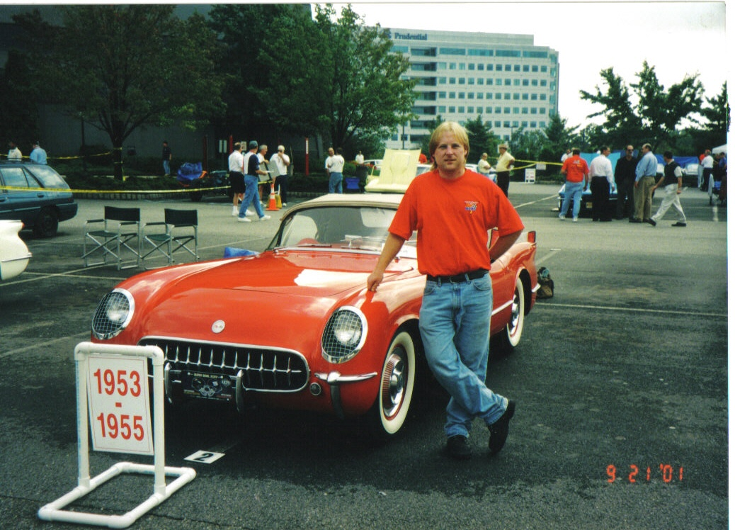 1954 Corvette at NCRS judging