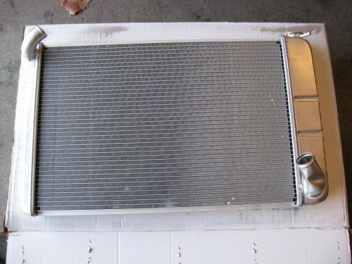 1970 Corvette Radiator Upgrade